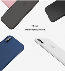 iPhone X Case, PP Ultra Thin [0.4mm] World's Thinest Protect Hard Case for iPhone 10 / X [ Semi-transparent ] Lightweight